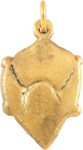 VIKING HEART PENDANT 850-950 AD