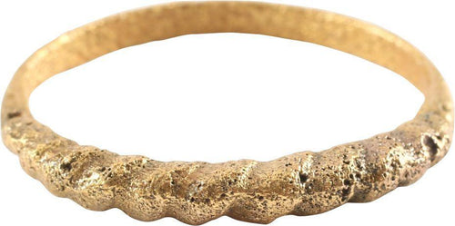 VIKING ROPED OR TWIST WEDDING RING C.866-1067 AD