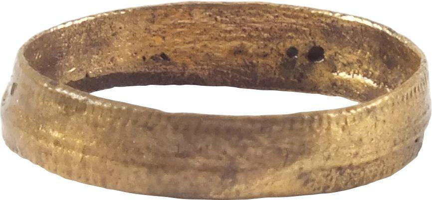 ANCIENT VIKING WOMAN'S WEDDING RING C.850-1050 AD SZ 2/12 - Fagan Arms
