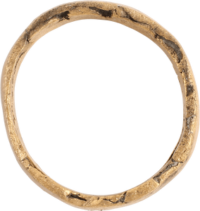 VIKING WEDDING RING, 850-1050 AD SIZE 7 - Fagan Arms