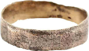 ANCIENT VIKING WEDDING RING, SIZE 8 ½