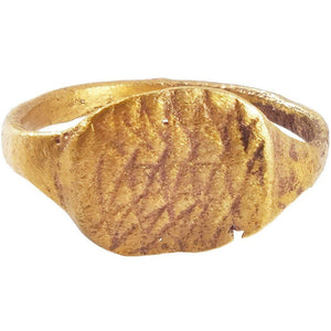 CHRISTIAN PILGRIM'S RING 5th-11th CENTURY SIZE 2