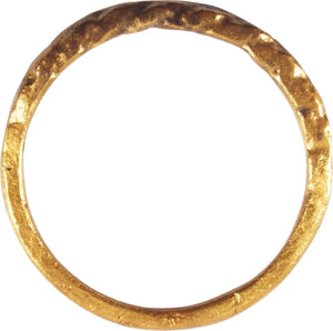 VIKING TWIST MOTIF RING C.850-1050 AD