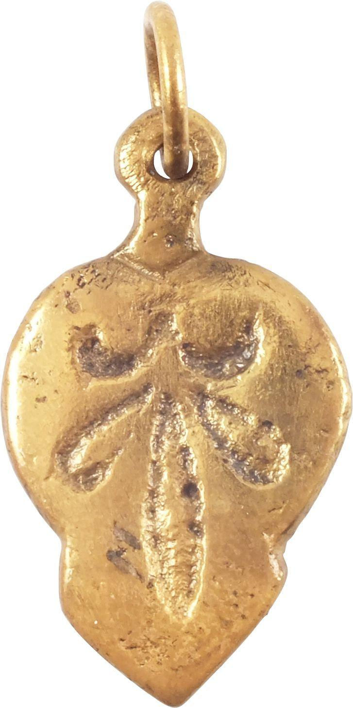 ANCIENT VIKING HEART PENDANT C.850-1050 AD
