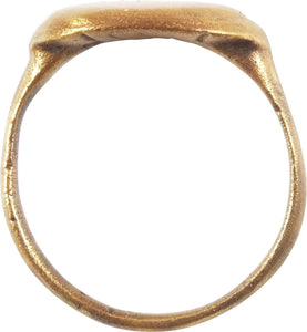 EARLY CHRISTIAN RING 5th-11th CENTURY SIZE 9 ¼
