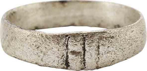 ANCIENT VIKING WEDDING RING C.850-1050 AD SIZE 6