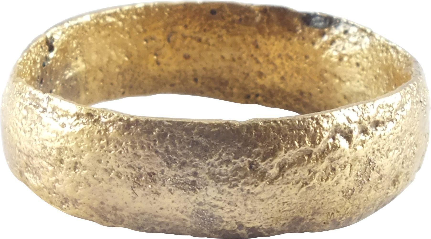 ANCIENT VIKING MAN'S WEDDING RING C.850-1050 AD SIZE 10 - Fagan Arms