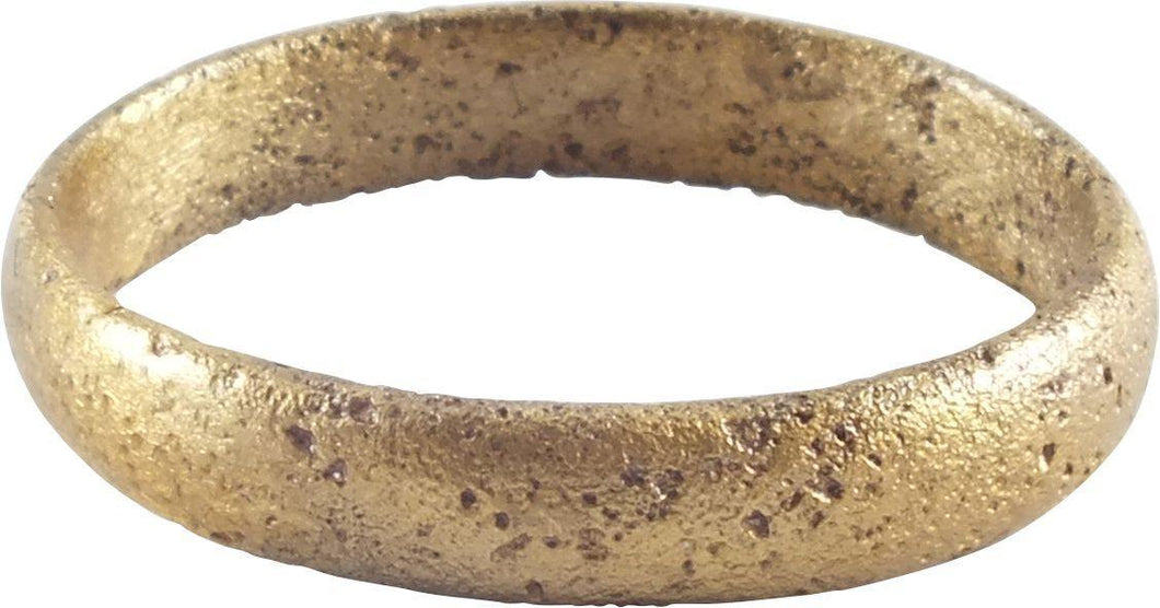 ANCIENT VIKING WEDDING RING C.850-1050 AD SIZE 9 ½ - Fagan Arms