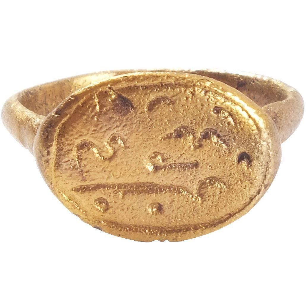 EARLY CHRISTIAN GIRL'S RING 7th-9th CENTURY AD