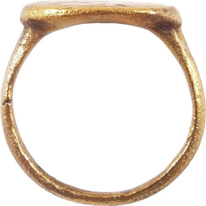 EARLY CHRISTIAN GIRL'S RING 7th-9th CENTURY AD SIZE 2 ¼