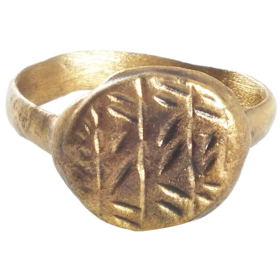 Gilt Byzantine Ring - Product