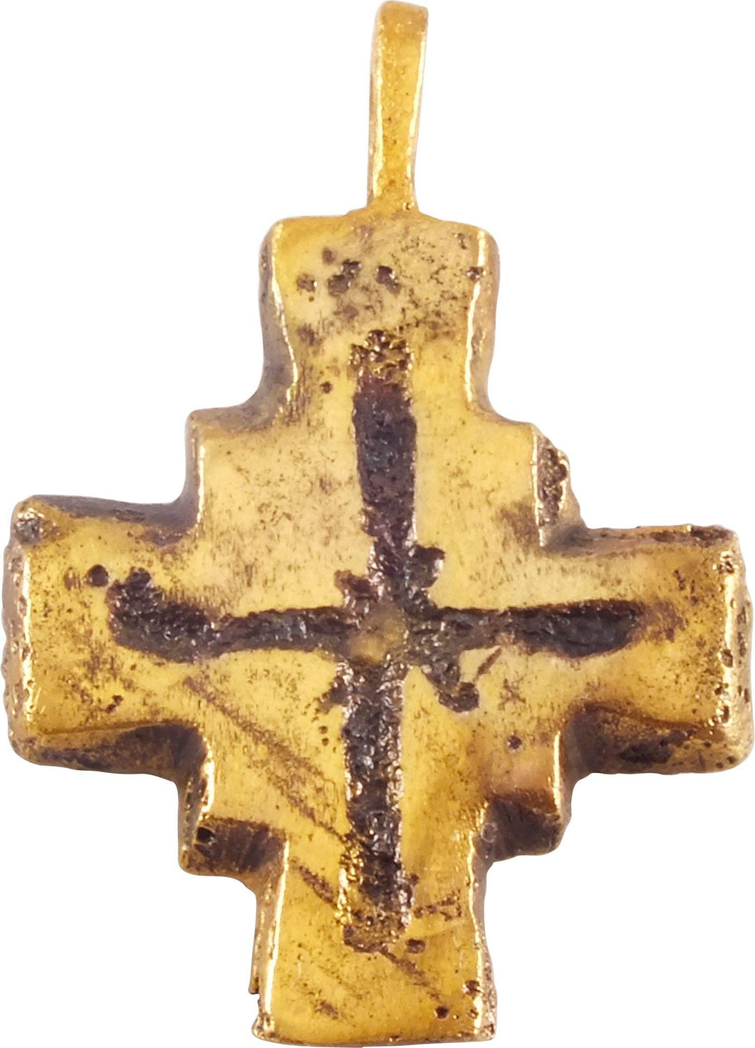 Medieval European Reliquary Cross 7Th-10Th Century - Product