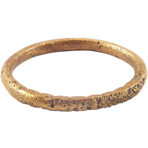 VIKING TWISTED MOTIF RING 850-1050 AD SIZE 10 ¼