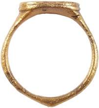 VIKING WARRIOR'S RING C.850-1000 AD SIZE 9