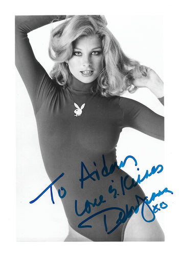 Signed Debra Jensen Playboy Print - Personalized
