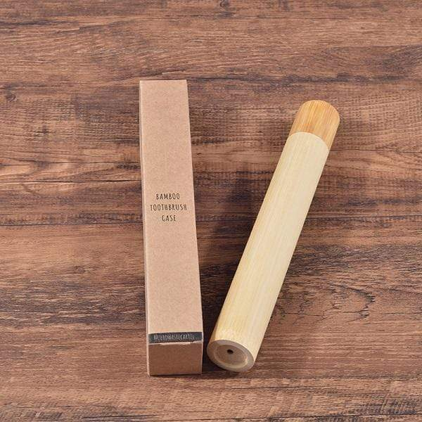 Nextouter Natural Bamboo Tube case For Toothbrush