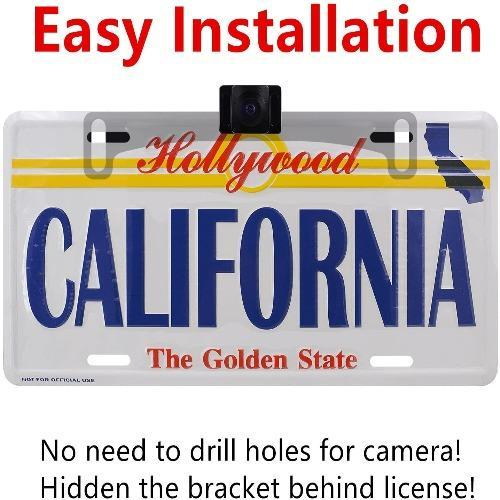 (40% OFF TODAY)License Plate IR Car Rear View Backup Camera