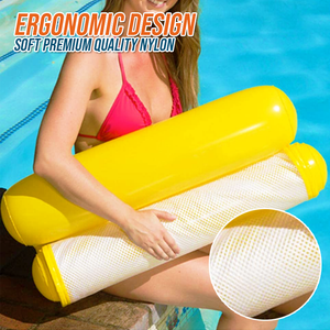 Inflatable Water Hammock And Drifter