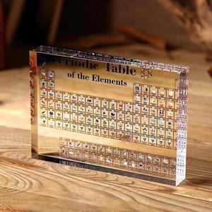 🔥Hot Sale🔥Collectable Periodic Table with REAL Elements
