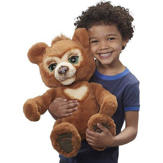 🔥40% OFF🔥The Curious Bear Interactive Plush Toy