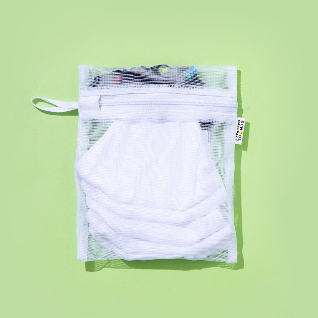 Teen/Adult Reusable Cloth Face Mask Set White