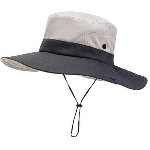 Beige women summer hat with ponutail hole
