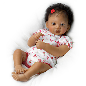 """Sweet Butterfly Kisses""  Terry Quality Realistic Handmade Baby Dolls Girl Toy"