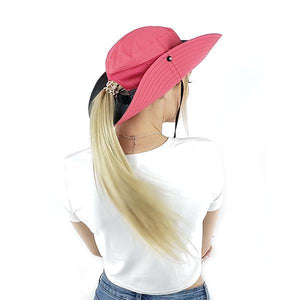 melon ponytail hat summer sun