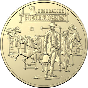 The Bold, The Bad and The Ugly: Australia's Wild Colonial Bushrangers Uncirculated Coin Set