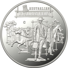 Load image into Gallery viewer, The Bold, The Bad and The Ugly: Australia's Wild Colonial Bushrangers Silver Proof 'C' Mintmark Coin
