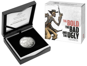 The Bold, The Bad and The Ugly: Australia's Wild Colonial Bushrangers Silver Proof 'C' Mintmark Coin