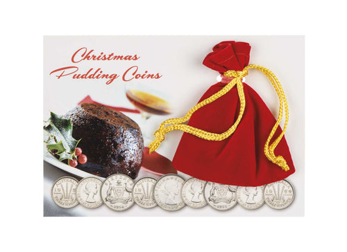 Christmas Pudding Coin Pack