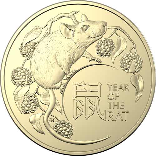 Lunar Year of the Rat Two Coin Set