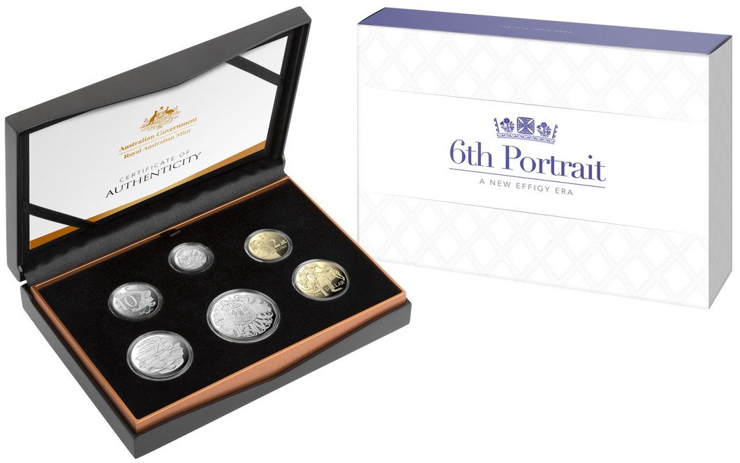 A New Effigy Era - 6th Portrait 2020 Proof Year Set