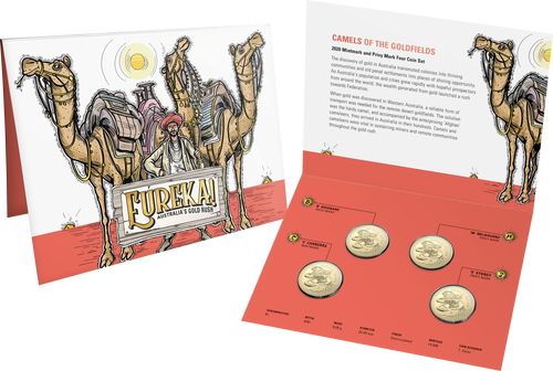 Eureka! Australia's Gold Rush Coin Set