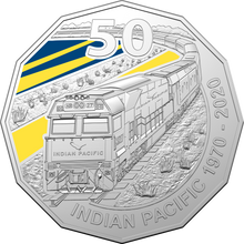 Load image into Gallery viewer, 50th Anniversary of the Indian Pacific Coin