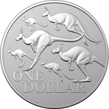 Load image into Gallery viewer, Kangaroo Series - Red Kangaroo $1 Coin Capsule Only no Box