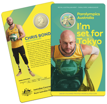 Load image into Gallery viewer, Australian Paralympic Team - Ambassador Chris Bond Coin