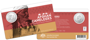 The Afghan Cameleers 2020 50c Uncirculated Coin