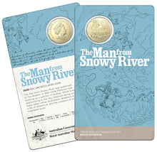 Load image into Gallery viewer, Banjo Paterson's - The Man from Snowy River 50c Uncirculated Coin