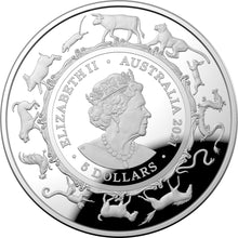 Load image into Gallery viewer, Lunar Year of the Ox 2021 $5 Fine Silver Proof Domed Coin