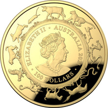 Load image into Gallery viewer, Lunar Year of the Ox 2021 $100 Gold Proof Domed Coin