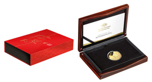 Lunar Year of the Ox 2021 $100 Gold Proof Domed Coin