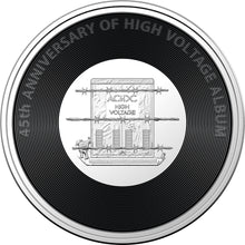 Load image into Gallery viewer, AC/DC - High Voltage 2020 20c Coloured Uncirculated Coin