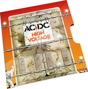 AC/DC - High Voltage 2020 20c Coloured Uncirculated Coin