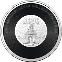 Load image into Gallery viewer, AC/DC - Ballbreaker 2020 20c Coloured Uncirculated Coin