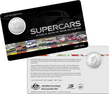 Load image into Gallery viewer, 60 Years of Supercars Nine Coin Collection 2020 50c Coloured Uncirculated Coin Set