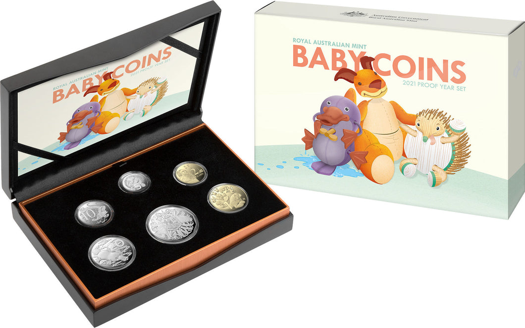 Baby Coins 2021 Proof Year Set