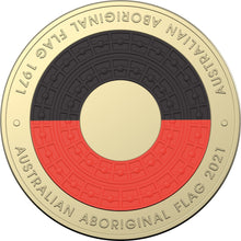 Load image into Gallery viewer, 50th Anniversary of the Aboriginal Flag 2021 Six Coin Uncirculated Year Set
