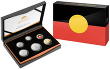 Load image into Gallery viewer, 50th Anniversary of the Aboriginal Flag 2021 Six Coin Proof Year Set